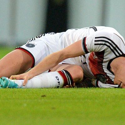 Marco Reus skadade sig i genrepet.