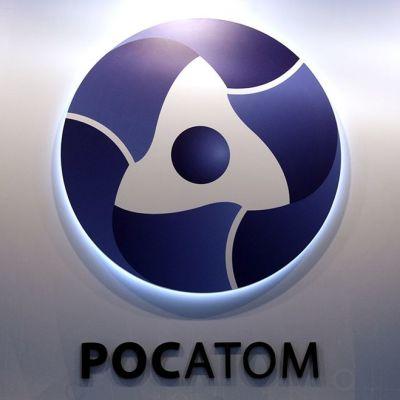Rosatom-yhtiön tunnus.