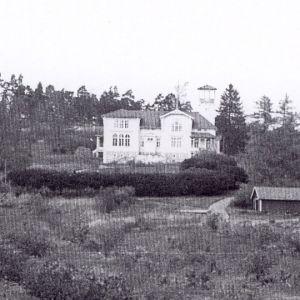 Skinnarviks herrgård på 1950-talet
