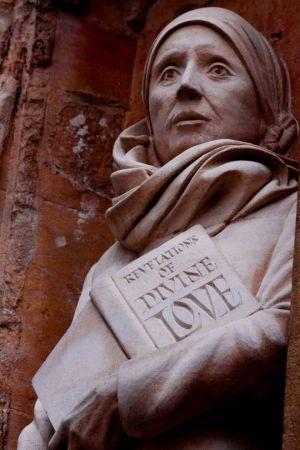 Staty av Julian av Norwich