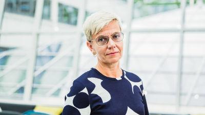 Inger Damlin är ordförande för Finlands svenska lärarförbund.