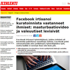 Kuvakaappaus Iltalehden uutisesta.