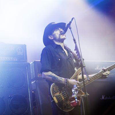 Lemmy Kilmister Münchenissä 20. marraskuuta 2015
