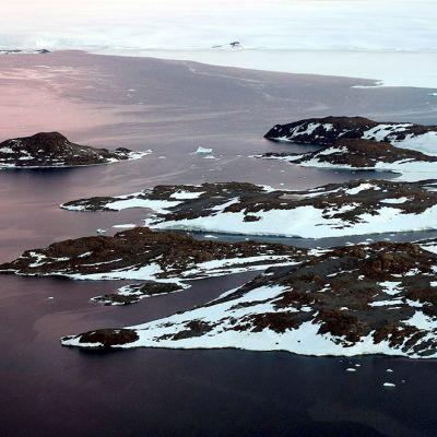 Etelämantereen rannikkoa Australian alueella.