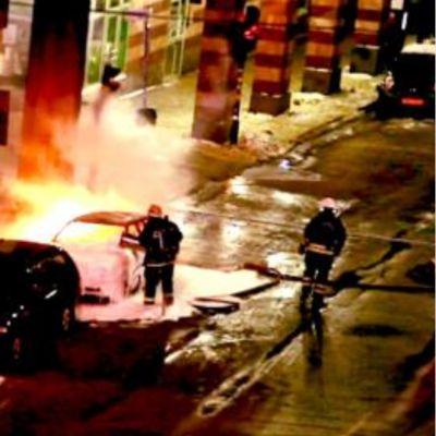 Bilexplosion i Stockholm 11.12.2010
