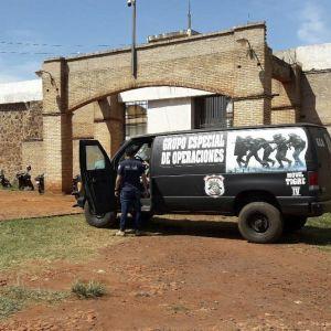 Vankilapako tapahtui Pedro Juan Caballerossa kaupungissa lähellä Brasilian rajaa.