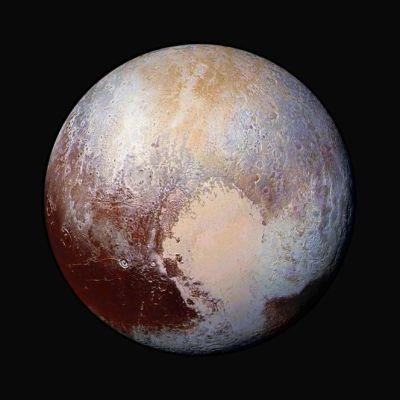 Kääpiöplaneetta Pluto.