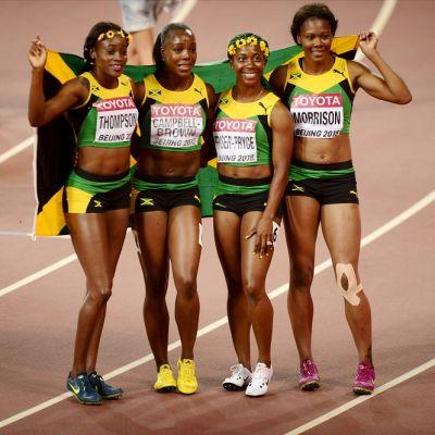 Jamaikan naisten viestijoukkue