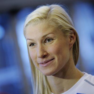Hanna-Maria Seppälä voitti MM-kultaa kymmenen vuotta sitten Barcelonassa.