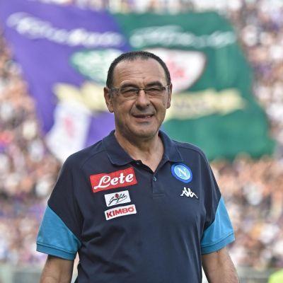 Maurizio Sarri kuvassa