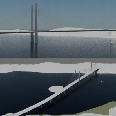 alternativ för rävsundsbron, östra dragningen