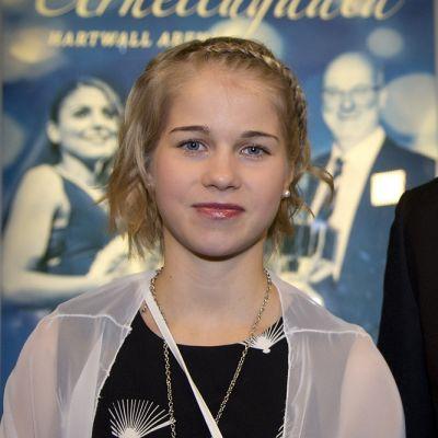 Alisa Vainio Suomen Urheilugaalassa
