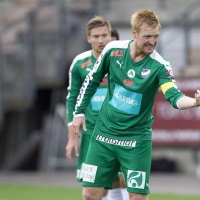 IFK Mariehamnin kapteeni Jani Lyyski