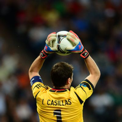 Casillas Portugali Espanja