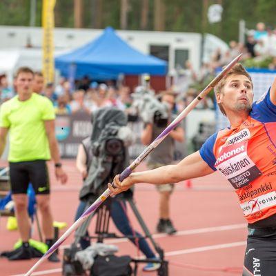 Antti Ruuskanen kuvassa