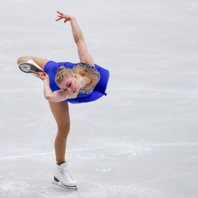 Viveca Lindfors kuvassa