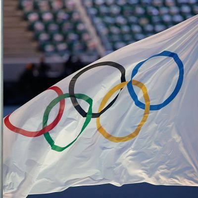 Olympialippu kuvassa