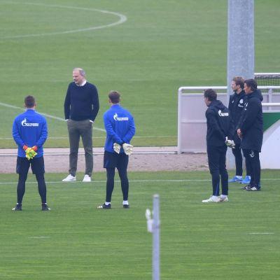 Schalken pelaajia kuvassa