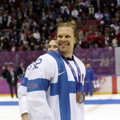 Olli Jokinen Sotshin olympialaisissa.