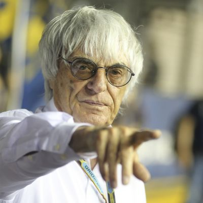 Bernie Ecclestone.