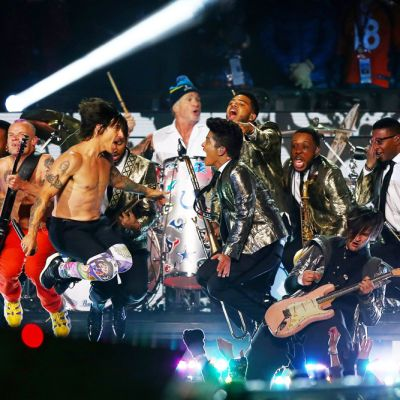 Bruno Mars ja Red hot chili peppers