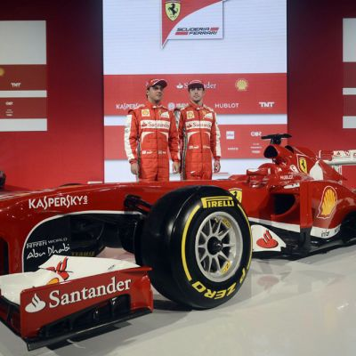 Ferrarin vuoden 2013 F1-auto