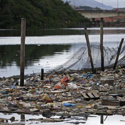 Guanabaran lahden veden laatu huolestuttaa.