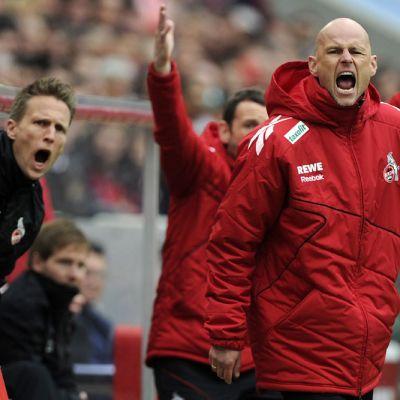 Kölnin päävalmentaja Ståle Solbakken