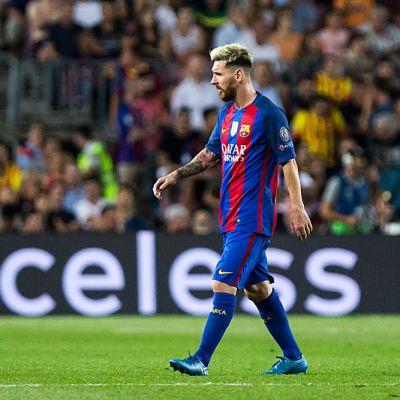 Barcelonan Lionel Messi