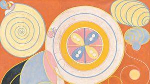 abstrakt målning av Hilma af Klint.