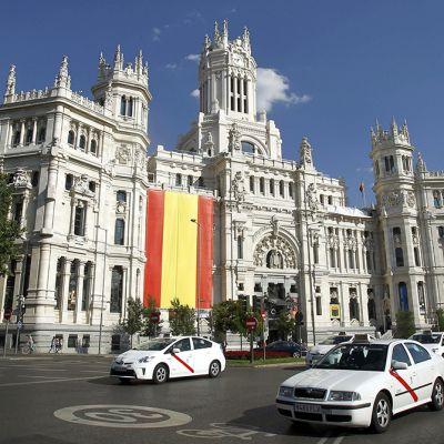 Madridin kaupungintalo 17. kesäkuuta 2014.