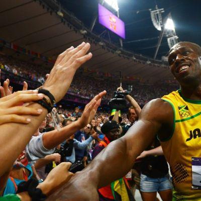 Usain Bolt ja fanit