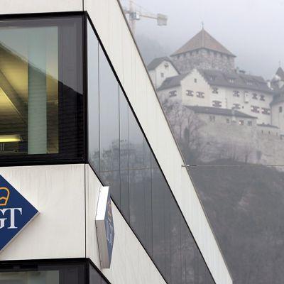 LGT-pankki Vaduzissa Liechtensteinissa.