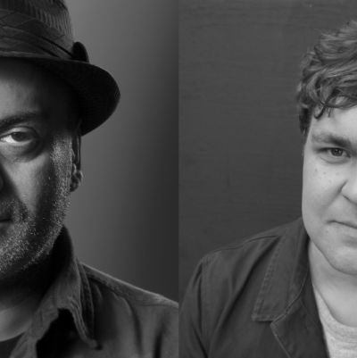 Författarna Hassan Blasim och Mathias Rosenlund