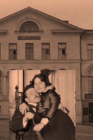 Viipurin Seuranhuone 1920-luvulla.