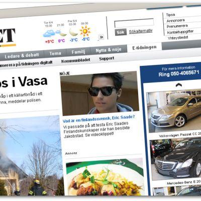 Vasabladets webbnyheter börjar kosta