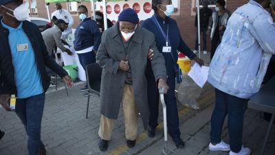 Vaccineringscentral i Johannesburg