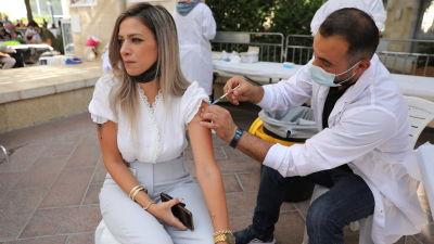 Vaccination i Israel.