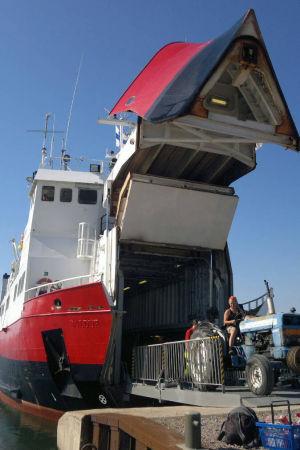 Förbindelsebåten Eivor