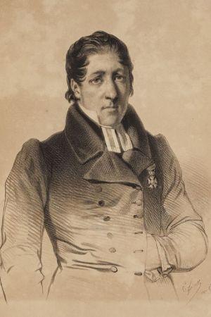 Charles Giraud'n vesivärimaalaus vuodelta 1839