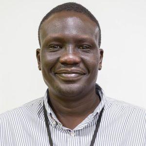 Pio Ding, kyrkans utlandshjälps landschef i Sydsudan