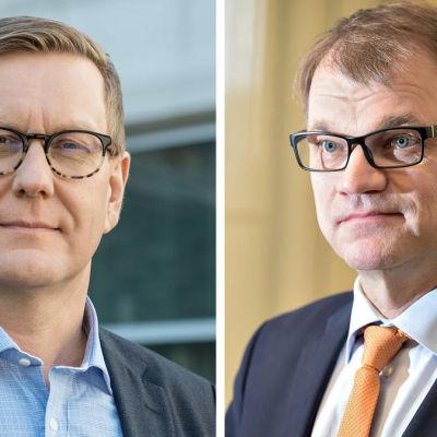 Atte Jääskeläinen och Juha Sipilä