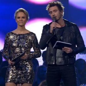 Kristiina Komulainen ja Sebastian Rejman