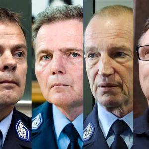 Mikko Paatero, Robin Lardot, Jukka Riikonen, Lasse Aapio och Jari Aarnio ställs inför rätta.