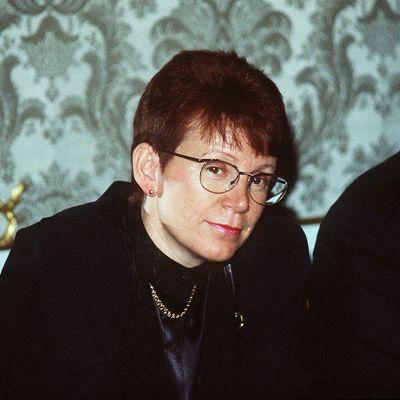 Eeva Kuuskoski-Vikatmaa vuonna 1991.