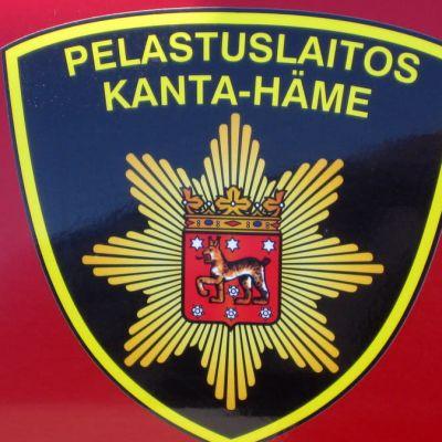 Logo för räddningsverket i Egentliga Tavastland.