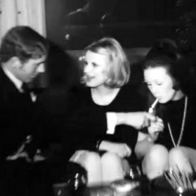 Nuoret juhlivat, ote dokumentista Laajakulma. Kultainen nuoruus. Eliittinuoret. (1970)