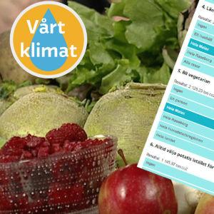 Klimatlogga till vegetarianism