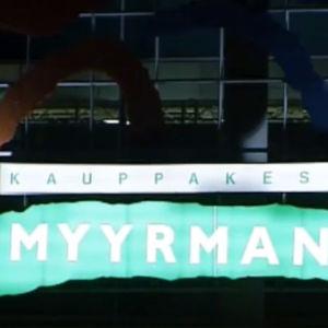 Myyrmanni-kauppakeskuksen logo vuonna 2002
