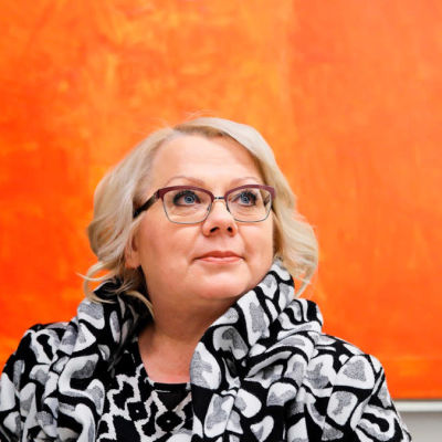 Suomen tiedetoimittajain liiton pääsihteeri Ulla Järvi.